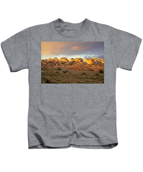 Sunset On Capitol Reef Kids T-Shirt