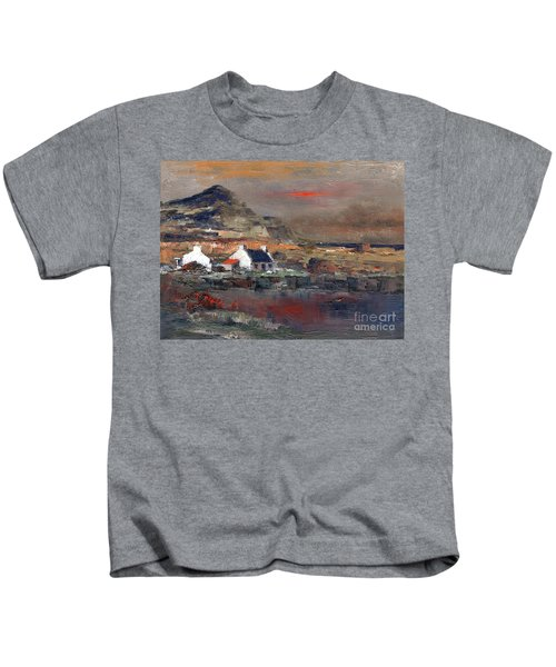 Sunset On Mount Errigal, Dunegal Kids T-Shirt