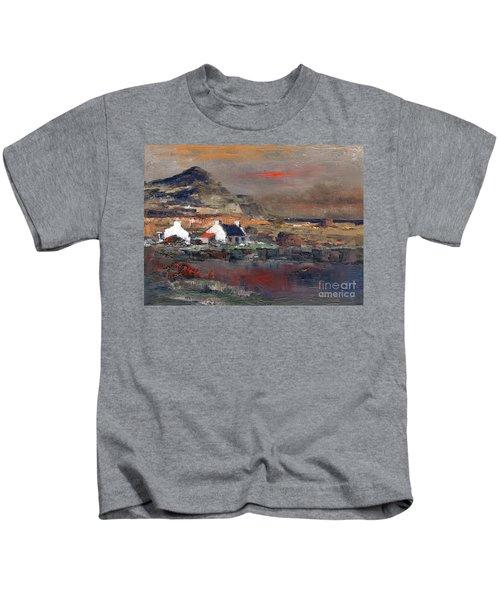 Sunset On Mount Errigal, Dunegal Kids T-Shirt
