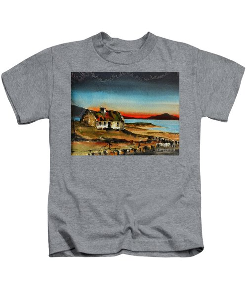 F 707 Inishfree Bay Near Ardra, Donegal.. Kids T-Shirt