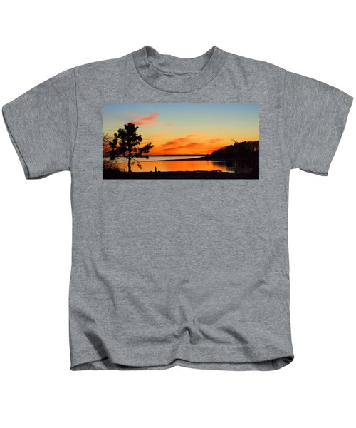Sunset Serenity Kids T-Shirt