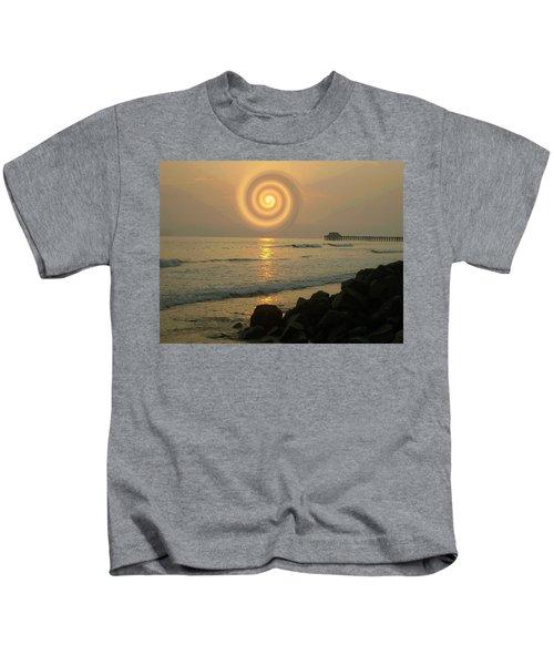 Sunsetswirl Kids T-Shirt
