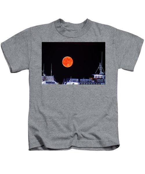 Super Moon Over Crazy Sister Marina Kids T-Shirt