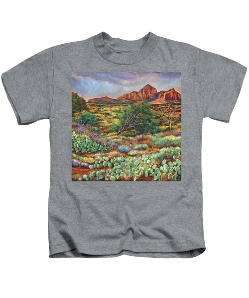 Surrounded By Sedona Kids T-Shirt