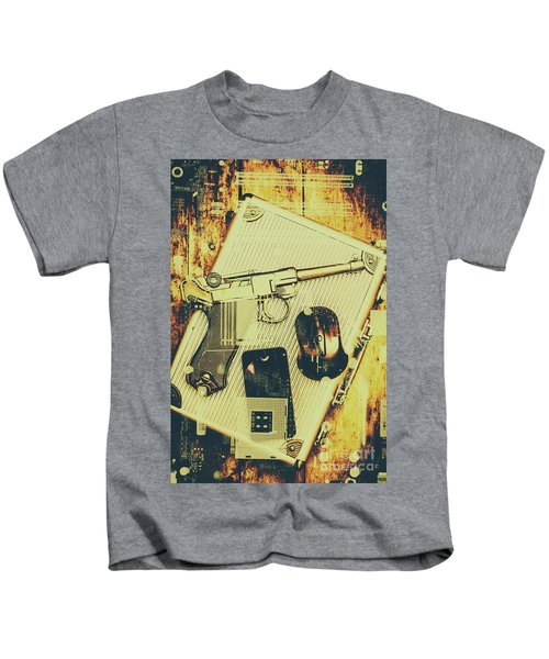 Surveillance State Kids T-Shirt