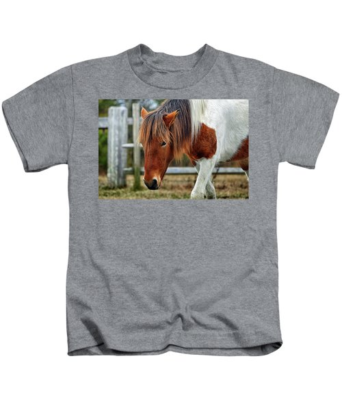 Susi Sole N2bhs-m Says Don't Fence Me In Kids T-Shirt