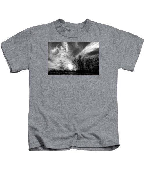 Sweeping Sky Kids T-Shirt