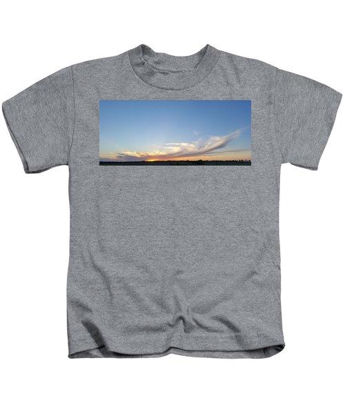 Sweeping Sunset Kids T-Shirt