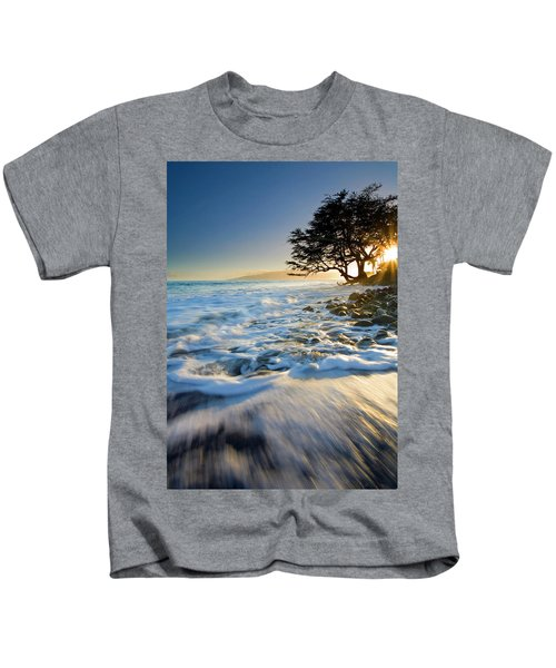 Swept Out To Sea Kids T-Shirt
