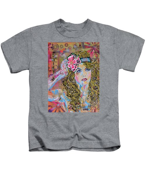 Swift Kids T-Shirt by Heather Wilkerson