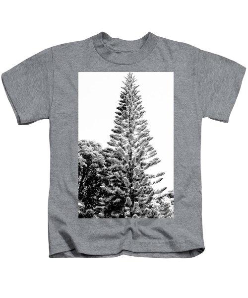 Tall Tree Bw - Lan11 Kids T-Shirt
