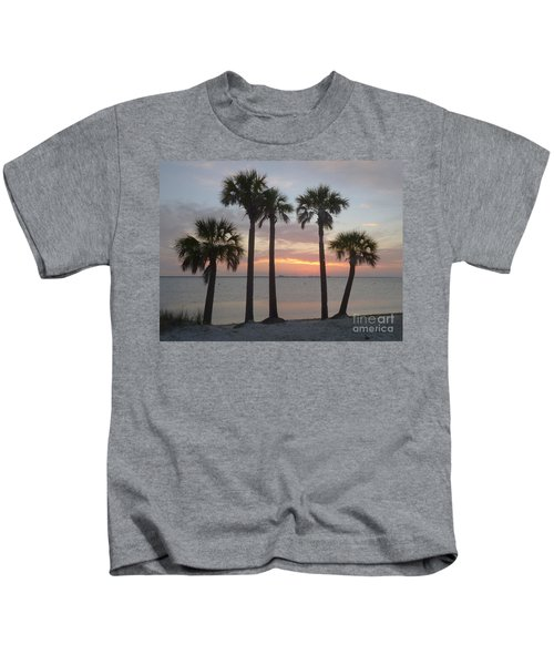 Tampa Bay Sunset Kids T-Shirt