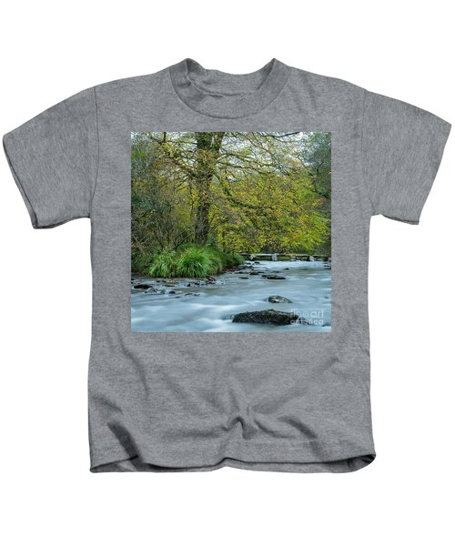 Tarr Steps Clapper Bridge Kids T-Shirt