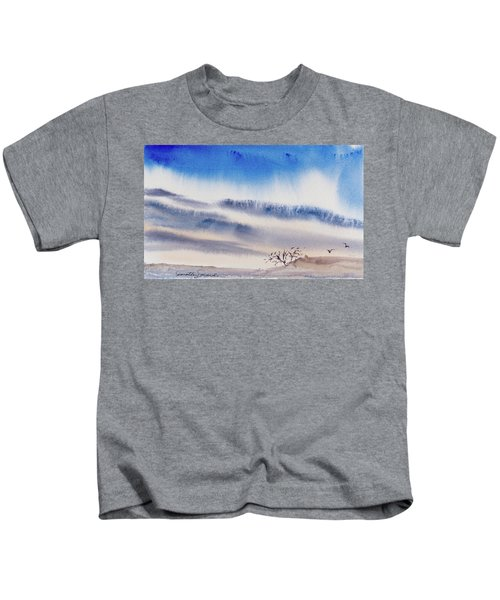 Tasmanian Skies Never Cease To Amaze And Delight. Kids T-Shirt