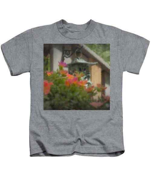 Tea Lantern And Portulaca Kids T-Shirt