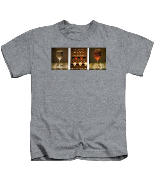 Tears And Wine Kids T-Shirt