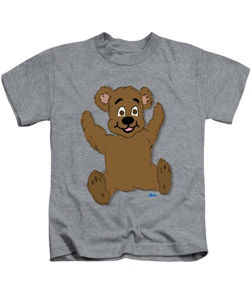 Teddy's First Portrait Kids T-Shirt