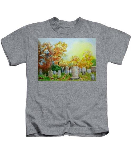 Tennant Cemetery New Jersey Kids T-Shirt