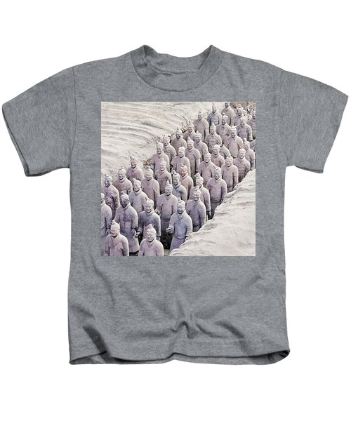 Terracotta Warriors Kids T-Shirt