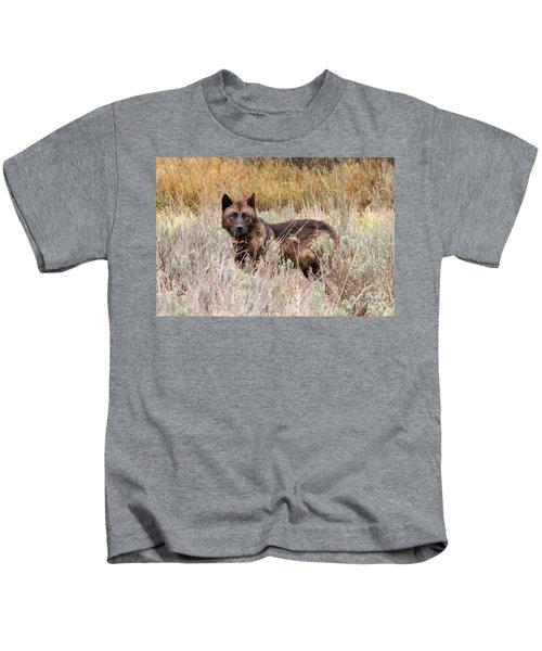 Teton Wolf Kids T-Shirt