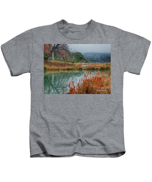 Texas Hill County Color Kids T-Shirt