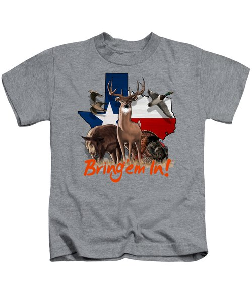 Texas Total Package Kids T-Shirt