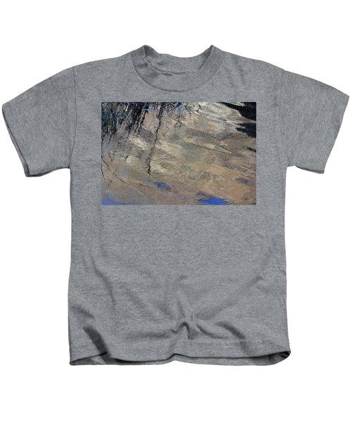 Texture In Grey Kids T-Shirt