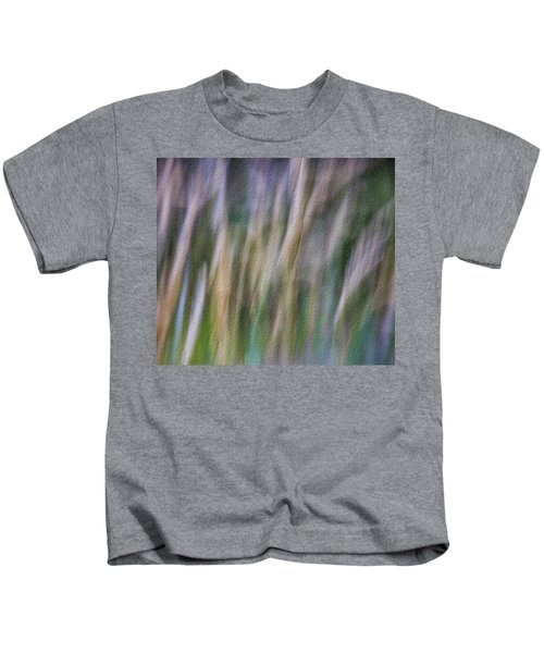 Textured Abstract Kids T-Shirt