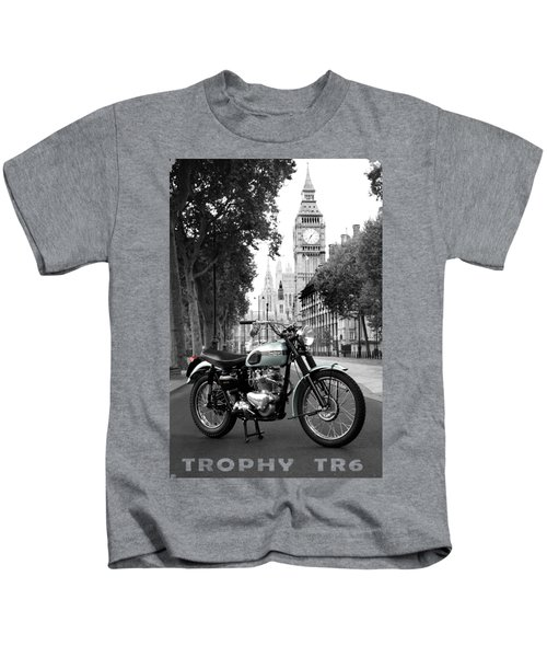 The 1956 Trophy Tr6 Kids T-Shirt