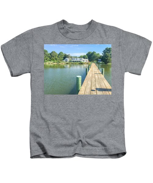 The Abbey On Cooper Point Kids T-Shirt
