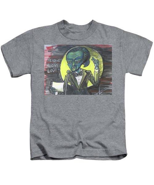 The Alien Lin-manuel Miranda Kids T-Shirt