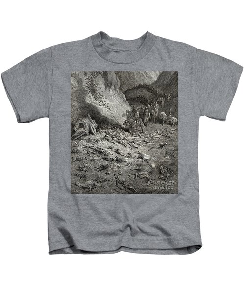 The Army Of The Second Crusade Find The Remains Of The Soldiers Of The First Crusade Kids T-Shirt