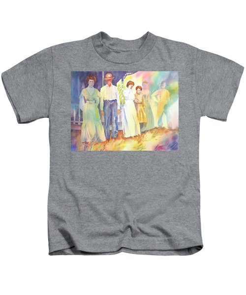 The Aunts Come Calling Kids T-Shirt