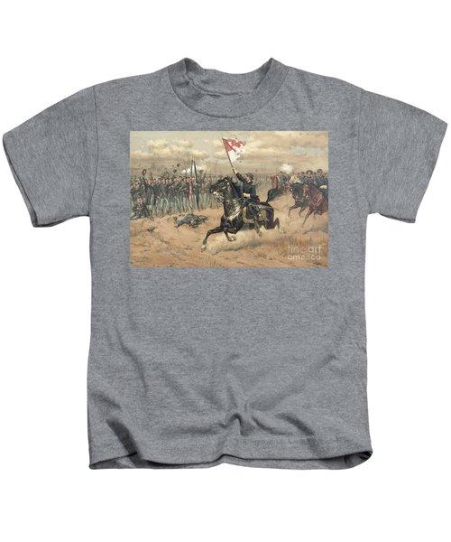 The Battle Of Cedar Creek Virginia Kids T-Shirt