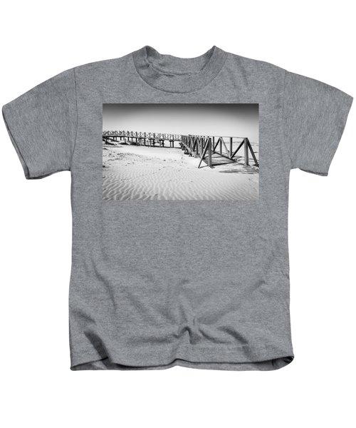 The Beach Walkway. Kids T-Shirt