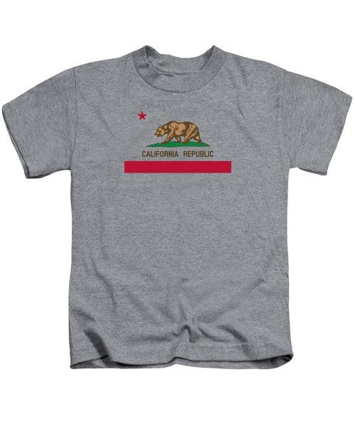 The Bear Flag - State Of California Kids T-Shirt