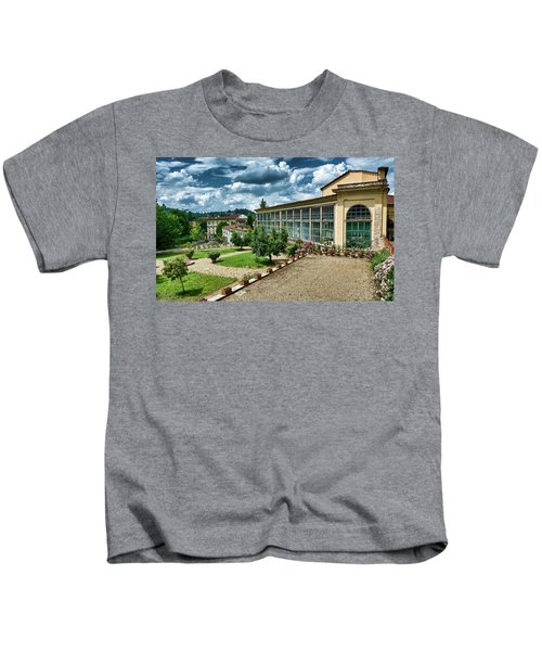 The Beauty Of The Boboli Gardens Kids T-Shirt