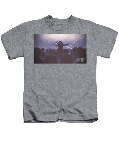 The Black Wizard Kids T-Shirt