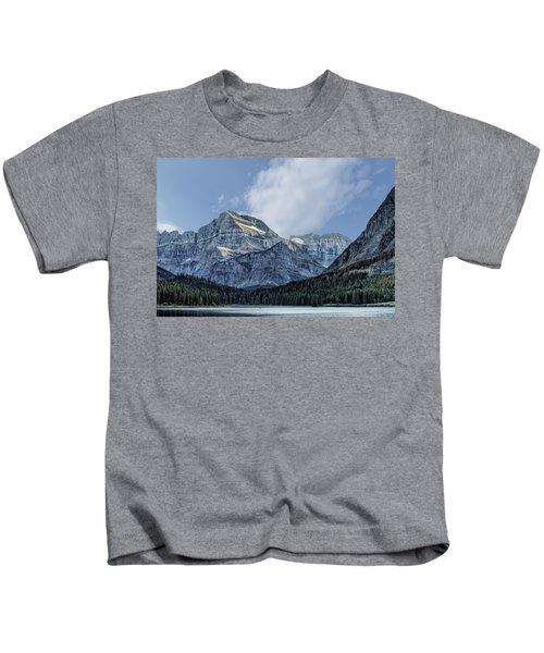 The Blue Mountains Of Glacier National Park Kids T-Shirt