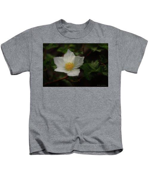 The Boulder Raspberry Flower Kids T-Shirt