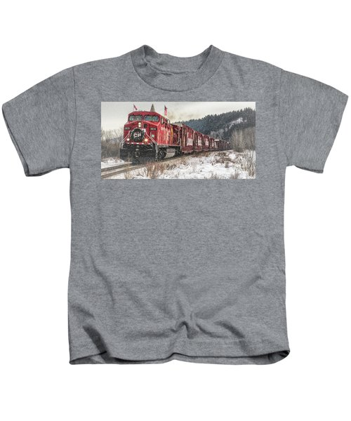 The Canadian Pacific Holiday Train Kids T-Shirt