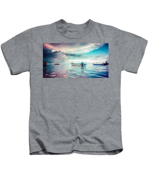 The Caribbean Morning Kids T-Shirt
