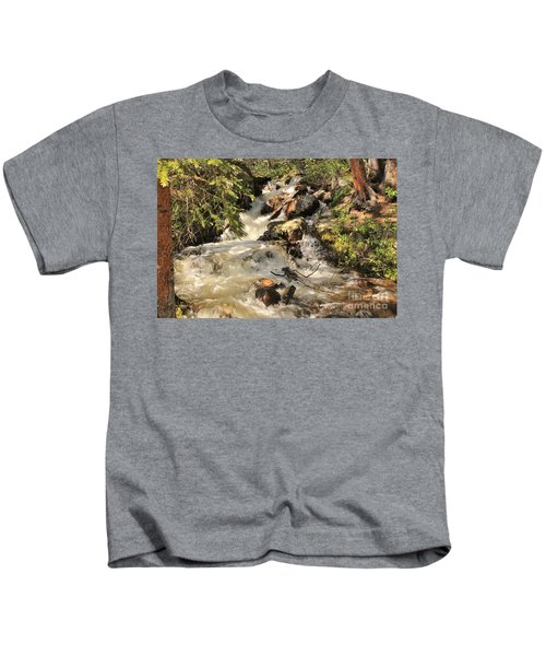 The Cascades 3 Kids T-Shirt