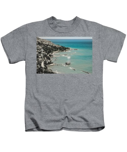 The City Of Waves Kids T-Shirt