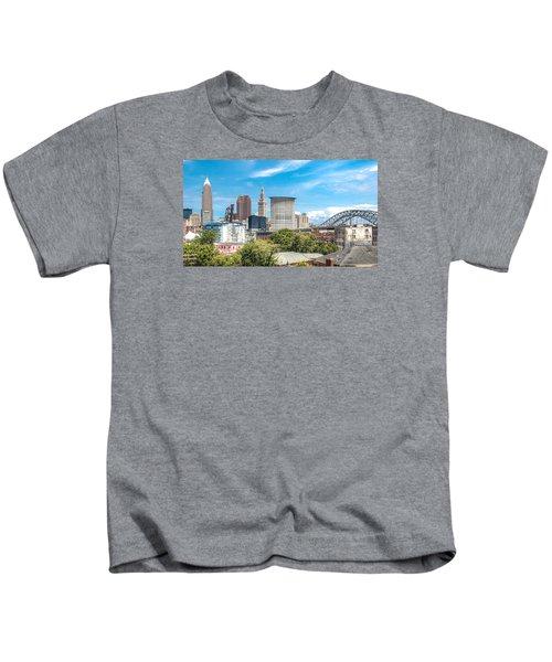 The Cleveland Skyline Kids T-Shirt