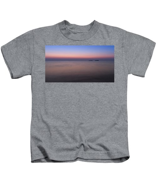 Dawn At The Mediterranean Sea Kids T-Shirt
