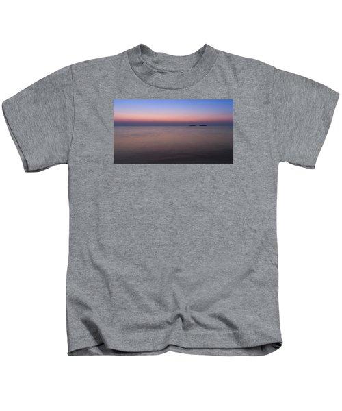 Dawn At The Mediterranean Sea Kids T-Shirt