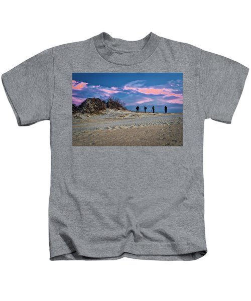 The Colors Of Sunset Kids T-Shirt