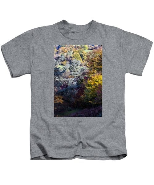 The Colours Of Autumn Kids T-Shirt