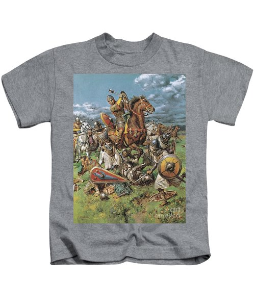The Coming Of The Conqueror Kids T-Shirt